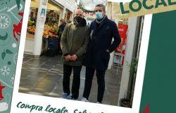 Lo storico mercato di Testaccio sostiene la campagna Think local