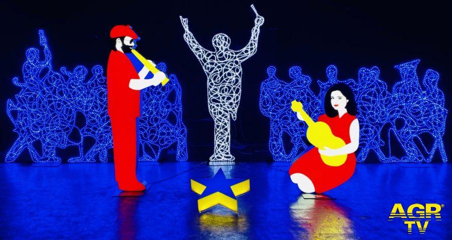 Natale, gli Uffizi si illuminano con un presepe pop