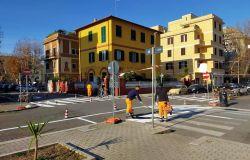Nuova segnaletica in piazza Tor San Michele, parcheggi dinanzi agli scivoli per disabili, Di Pillo: li stiamo ripristinando