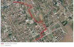 tracciato pista ciclabile