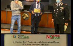 #NoFakeFood...premio Green Pride ai carabinieri forestali per sequestro farine contraffatte