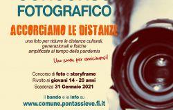 Pontassieve - Accorciamo le distanze Contest fotografico riservato ai giovani dai 14 ai 20 anni