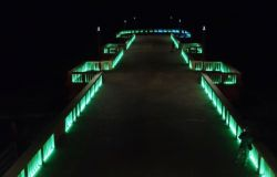 XMunicipio: Il Pontile di Ostia si accende di giochi di luce