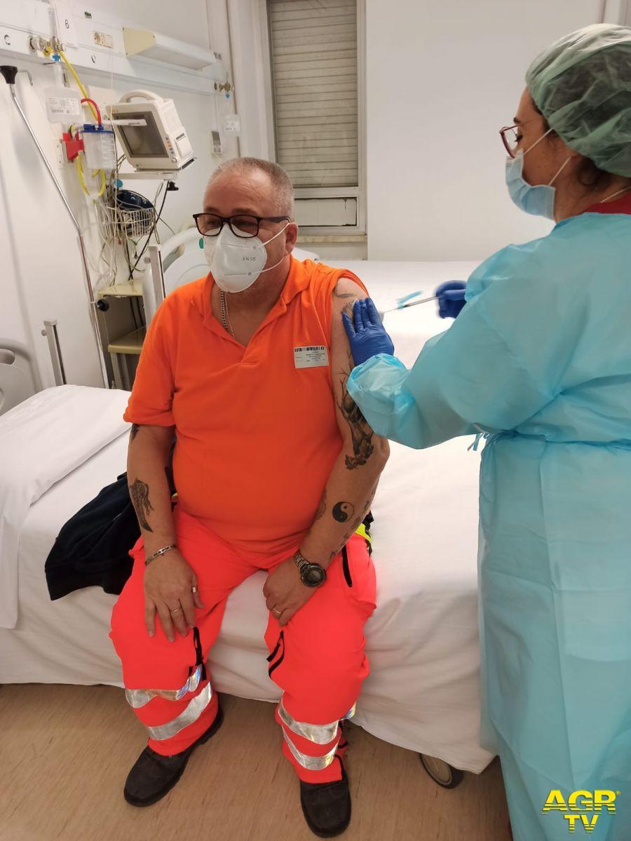 VASTO: Covid-19, al via la vaccinazione