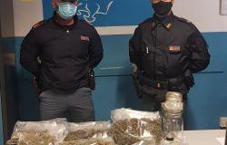 Prenestino. Polizia di Stato sequestra oltre 2kg di marijuana e 8.490 euro in contanti, a finire nei guai un 35enne originario di Campobasso
