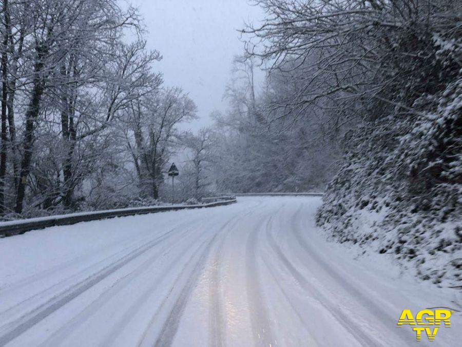 Nevicata Appennini