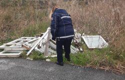 Focene, rimosse le discariche in via delle acque basse e vicino alla stazione di Porto