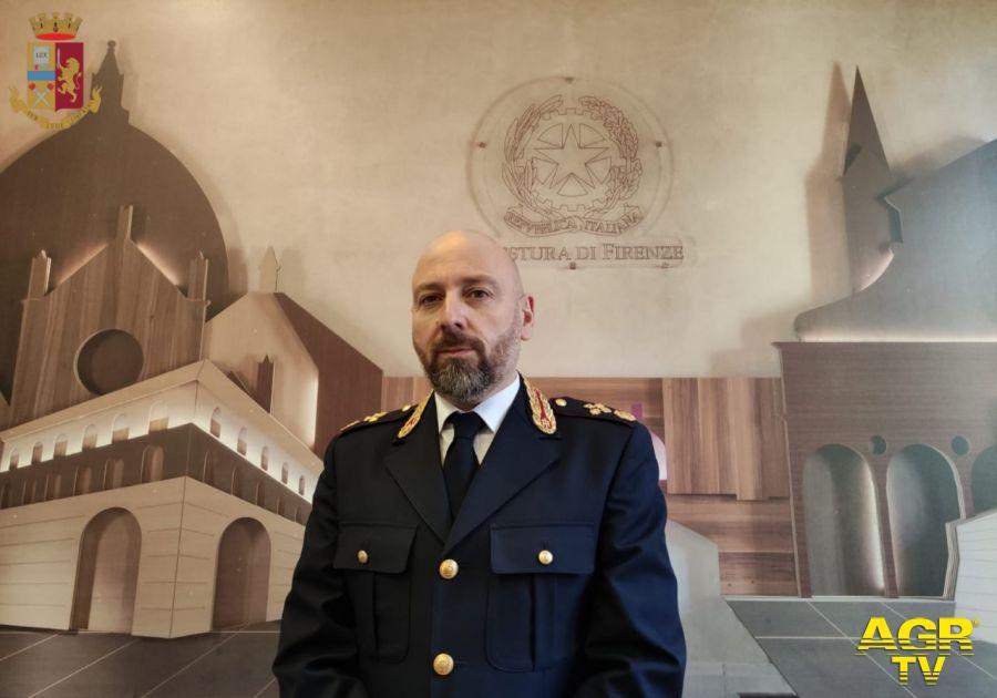 Dott. Andrea Di Giannantonio è il nuovo Dirigente della Squadra Mobile di Firenze