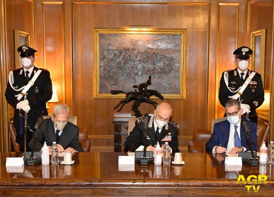 firma protocollo carabinieri leonardo