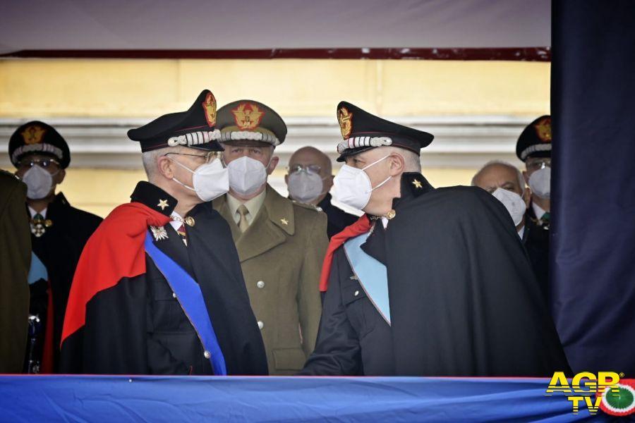 passaggio di consegne generale Nistri a generale Luzi