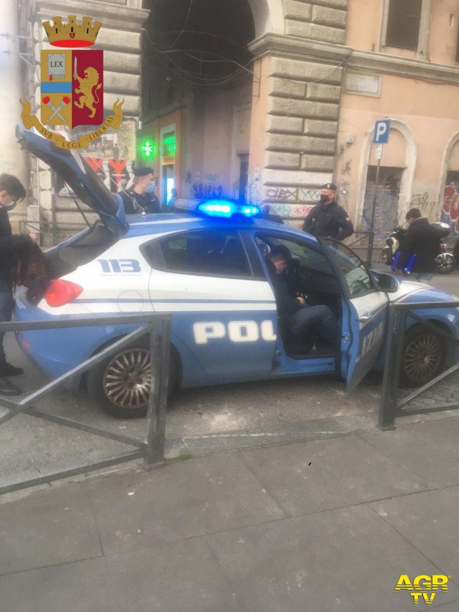 Polizia, contrasto microcriminalità e misure anti-covid, Esquilino e Trastevere nel mirino