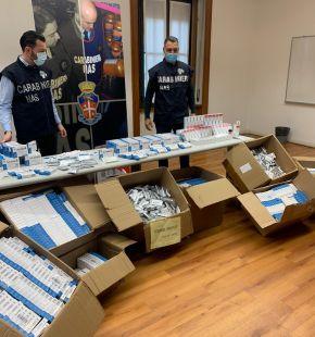 NAS, sequestrati oltre 64 mila farmaci cinesi illegali per la cura del covid-19