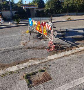 Ostia, anche corso Duca di Genova chiusa al traffico per una voragine nell'asfalto