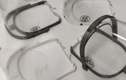 Visiere anti-covid in 3D donate dall'associazione  Visionari ai pediatri della Asl rm 3