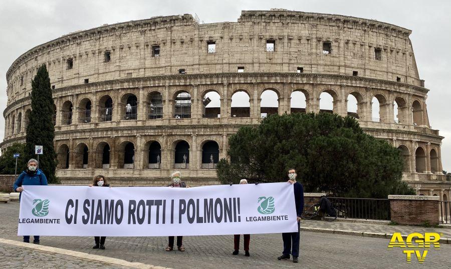 Report Mal'aria di Legambiente, a Roma 46 giorni con PM10 oltre i limiti