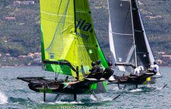 A Gargnano sul Garda, la grande estate della vela