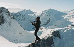 Cortina 2021: il violinista bresciano Andrea Casta in Eurovisione alla cerimonia d'apertura dei Campionati del Mondo di Sci Alpino