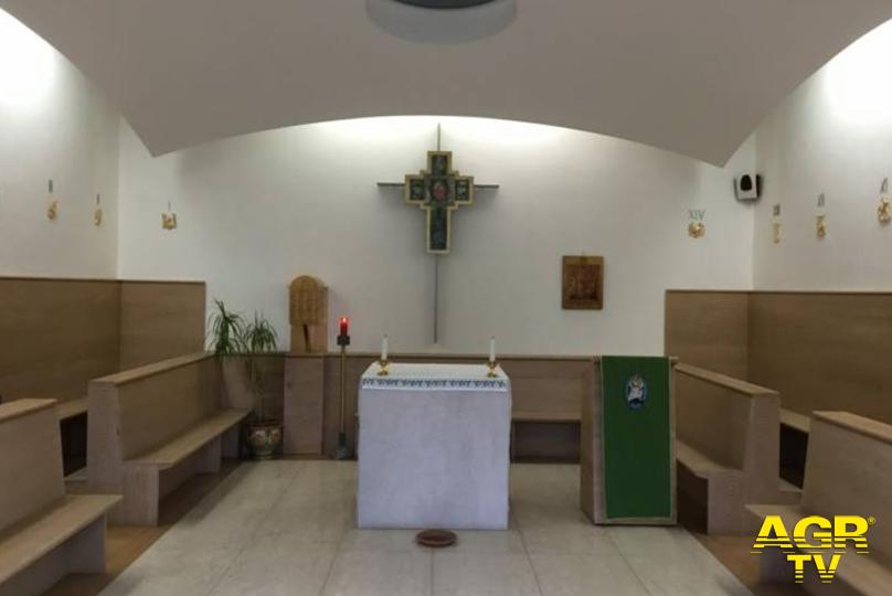 capella Misericordia Antella dove verrà posizionata via crucis