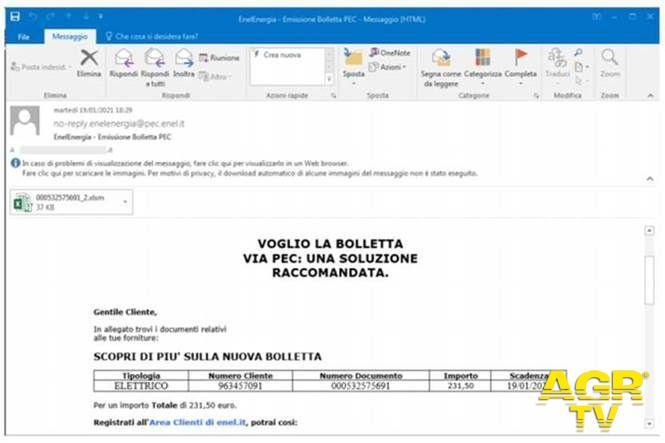 Enel SpA Enel Energia: attenzione alle mail truffa, tutte le raccomandazioni dell'azienda