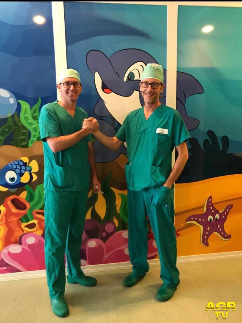 Ospedale Pediatrico Meyer Urologia, si allarga l'alleanza tra Meyer e Careggi: salvato il rene di una bambina di un anno  Lorenzo Masieri e Alfonso Crisci (Foto da comunicato)