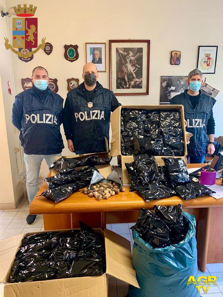 Oltre 20 kg di Oppio in un garage, arrestato indiano