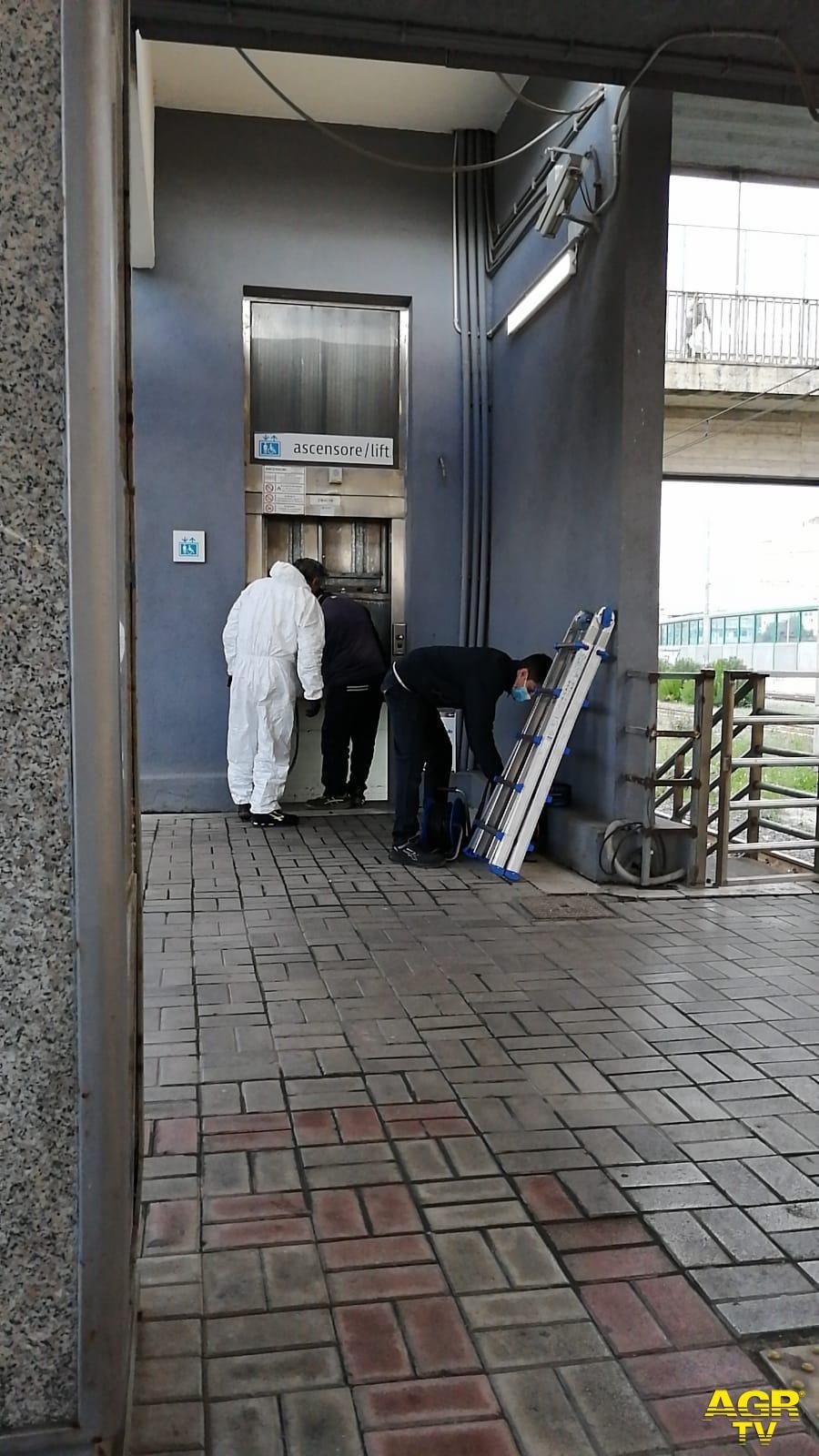 Roma-Lido, manutenzione  degli ascensori, una priorità per rendere accessibile la città