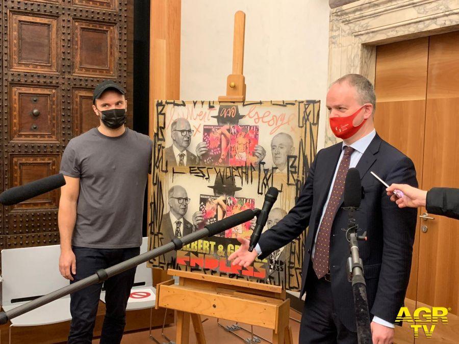 La Street Art entra per la prima volta nelle collezioni degli Uffizi