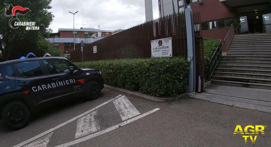 Le indagini dei Carabinieri  sull'omicidio di Cristian TARANTINO