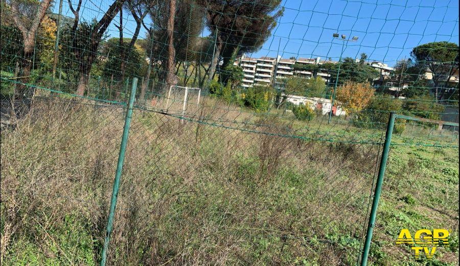 impianto sportivo Mostacciano