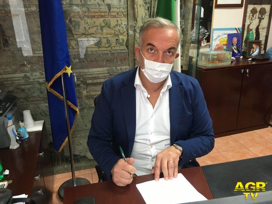"""Di Sarno: """"L'Unità di Crisi ha segnalato un ALERT per la nostra città. Chiudo le piazze per il 14 e il 16"""