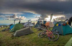 Viaggiare in bicicletta, appuntamento a giugno a Bam Campfire