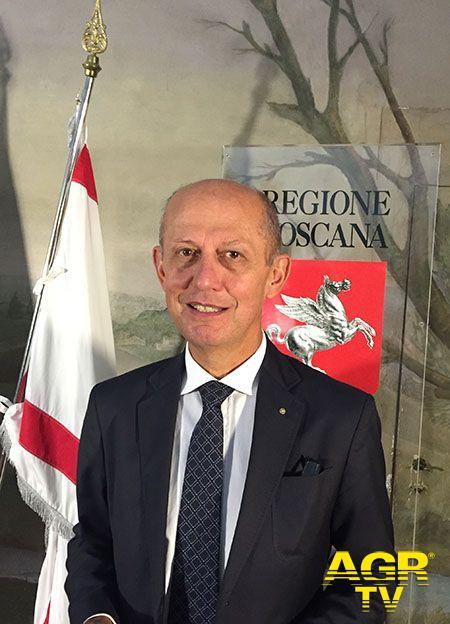 Assessore alla legalità della Regione Toscana Stefano Ciuoffo