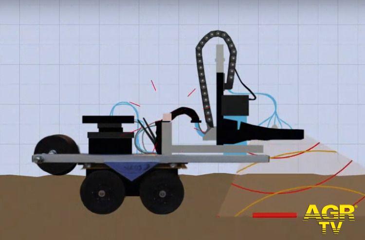 Università di Firenze Unifi. Robot innovativi contro le mine antiuomo