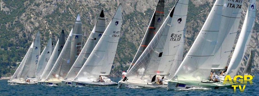 Lago di Garda, la grande vela protagonista  della stagione 2021
