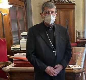 Il cardinale Betori a Palazzo Vecchio