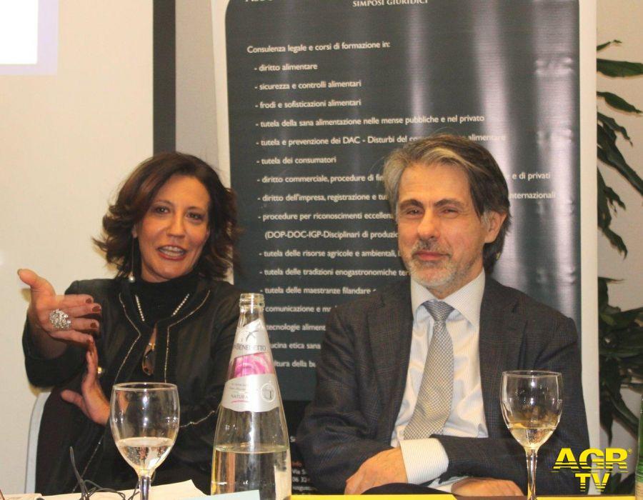 Sotira Leoni con lo scrittore Michele Leoni