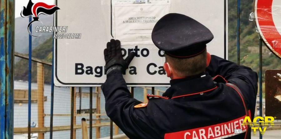 Cantiere navale Bagnara Calabra, sotto sequestro l'area portuale