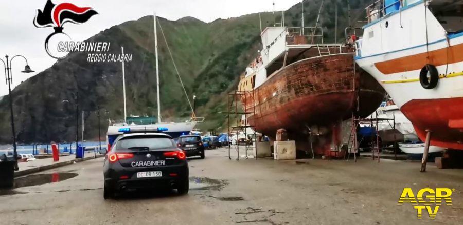 Carabinieri del Nucleo Operativo Ecologico di Reggio Calabria
