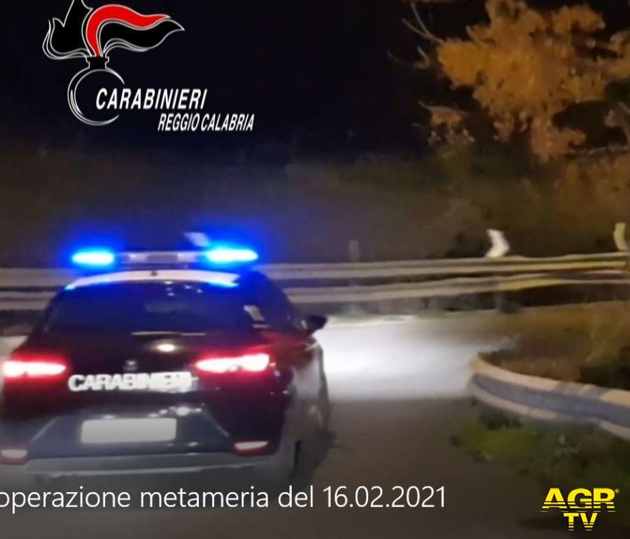 Operazione Metameria, 28 arresti