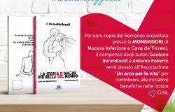 Aiutiamoleggendo...l'iniziativa solidale promossa dai due autori del romanzoLa storia d'amore più bella del mondo, Gaetano Berardinelli ed Antonio Roberto