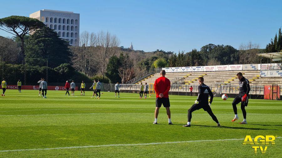 Roma, Europa League: Benfica in rifinitura questa mattina allo Stadio Tre Fontane