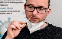 Test rapido semplificato per il coronavirus, sarà necessario solo un tampone nel cavo nasale inferiore