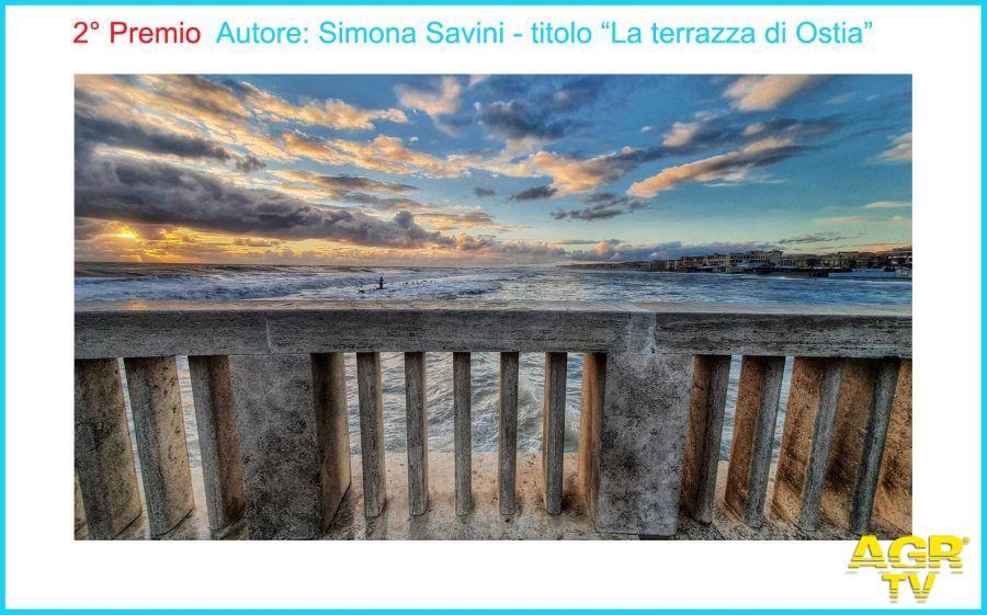 2°Premio Autore Simona Savini Titolo   La terrazza di Ostia