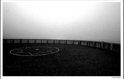 Ostia, la nebbia, al pontile.... nasconde l'alba