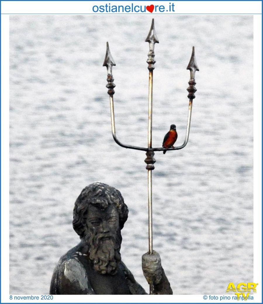 la statua con il tridente
