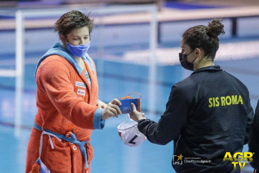 Pallanuoto, pari e patta nel primo match dei quarti di coppa Len, ora la Lifebrain Sis Roma si gioca la qualificazione in Ungheria