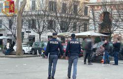 Trastevere, Controlli anti assembramento della Polizia di Stato