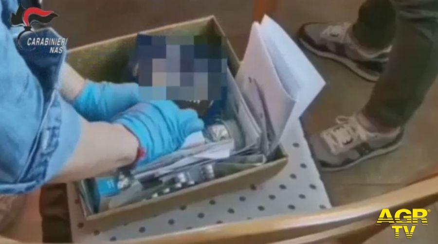 5 persone arrestate per traffico illecito di sostanze anabolizzanti