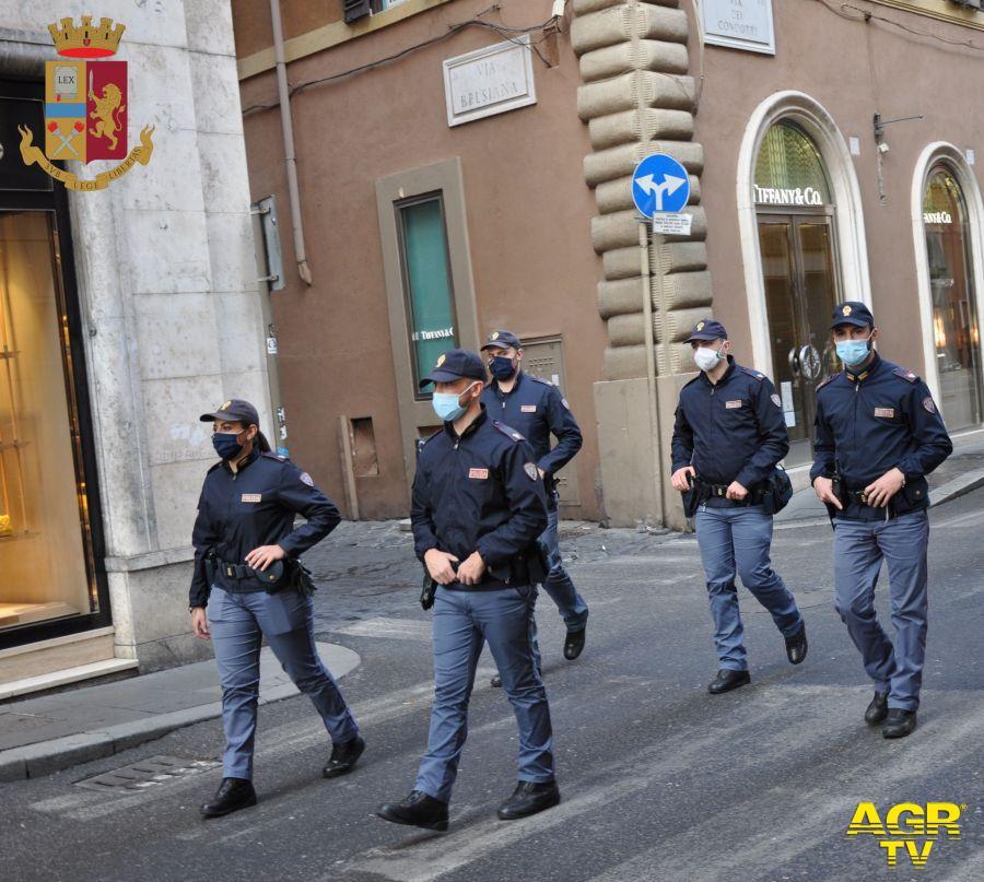 Manifestazioni non autorizzate, il 24 (Alitalia) e 25 settembre (green pass), 9 persone denunciate