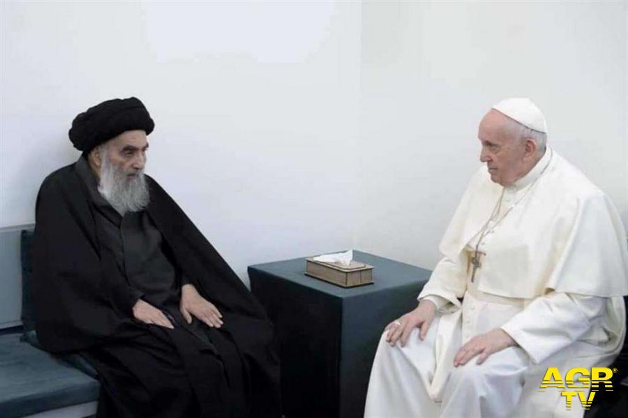 Papa Francesco e Al-Sistani